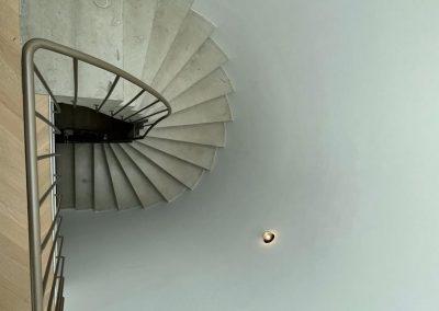 trappenhuis van boven
